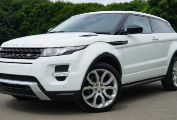 Hvid Range Rover